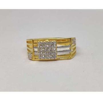 916 Gents Fancy Gold Ring Gr-28570
