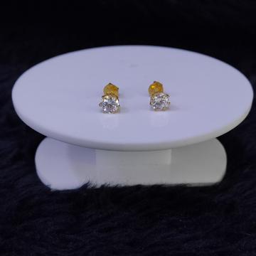 22KT/916 Yellow Gold Sumedha Diamond Earrings For Women