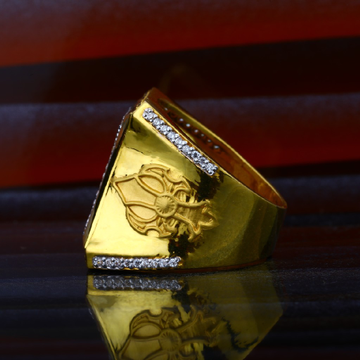Mens Exclusive 22K Gold Ring-MHR50