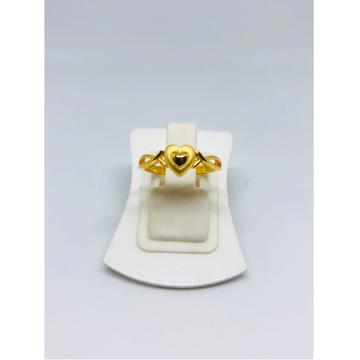 22KT Gold Heart Shape Ring For Women KDJ-R011 by