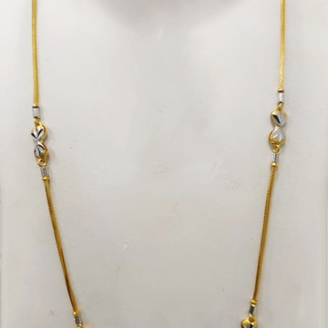 22k 916gold fancy chain by Suvidhi Ornaments