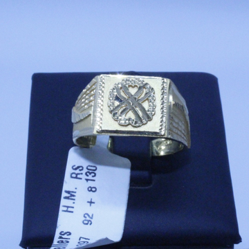 HALLMARKED GOLD RING