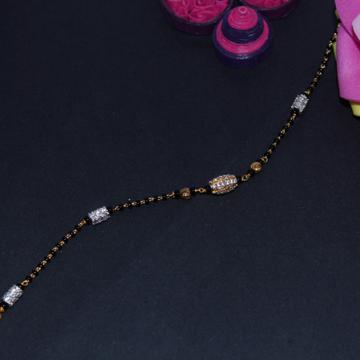 22K Hallmarked Attractive Mangalsutra Bracelet by Simandhar Jewellers