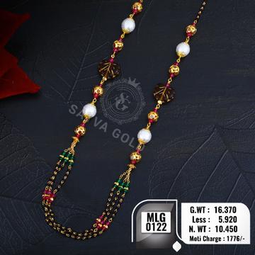 916 gold mala MLG-0122