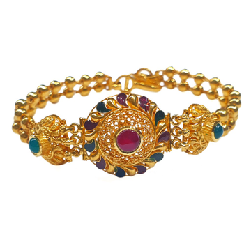 22k gold antique bracelet mga - gb004