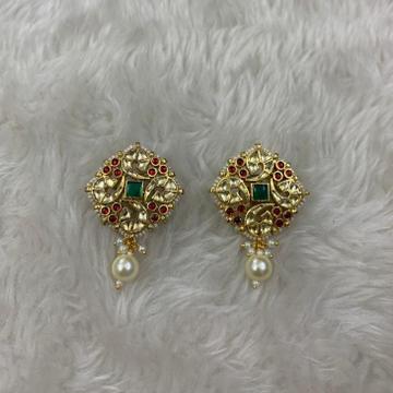 Designer Flower Design Earrings by