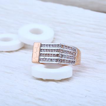 Rose Mens Gold Ring-RMR12