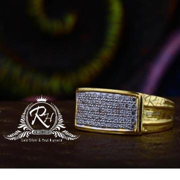 22 carat gold classic gents rings RH-GR842