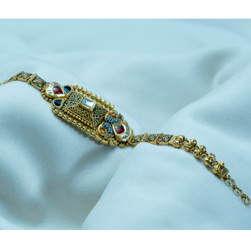 916 Gold Traditional Bracelet LB-485 by
