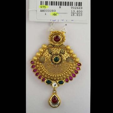 916 antique mangalsutra pendant