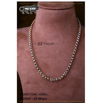 18 carat Italian gents gold chain katli chain igg0... by