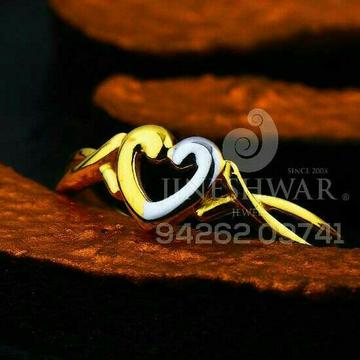 916 Heart Shape plain Casting Ladies Ring LRG -0557
