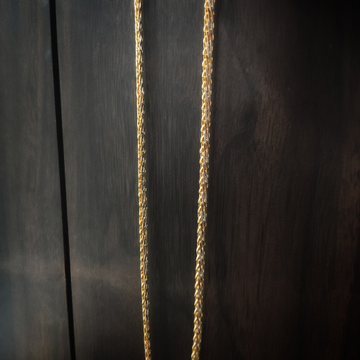 916 gold fancy handmade chain by Suvidhi Ornaments