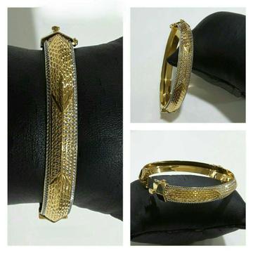 916 Gents Fancy Gold Bracelet G-5157