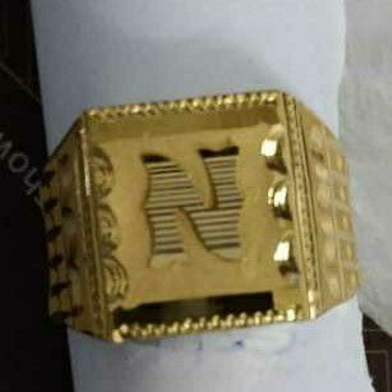 Gold Ring Jents N by