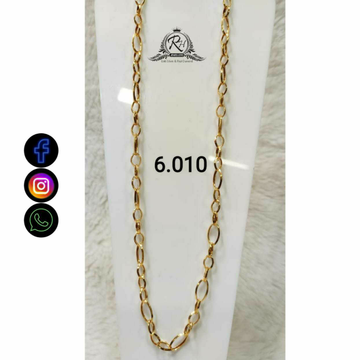 22 Carat Gold Gents Chain RH-CH780