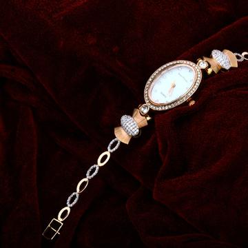 Ladies Rose Gold 18K Watch-RLW22