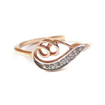 18k rose gold fancy ring mga - rgr009