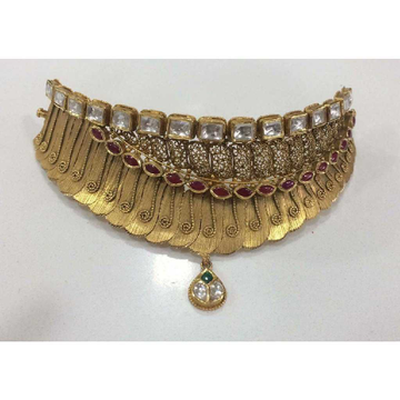 Antique Jadtar Bridal Coller Set