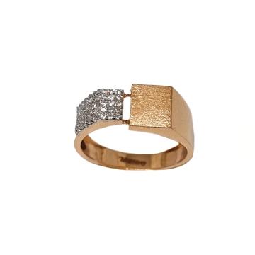 18K Rose Gold Designer Gents Ring MGA - GRG0260