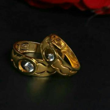 Fancy Couple Ring 916