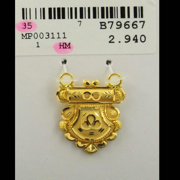 916 Patrawala Mangalsutra pendant