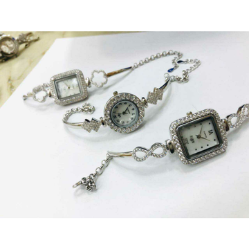92.5 sterling silver kada type watch ms-3584