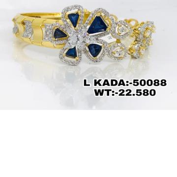 916 Gold Blue Stone Ladies antic Brasclet Kadu RH-LB23