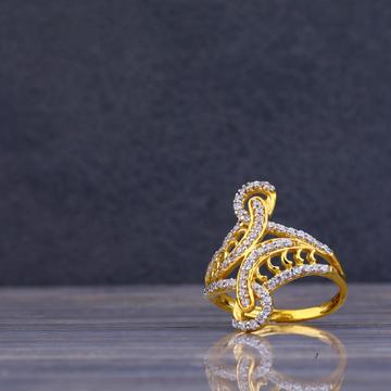 22kt Gold cz Ring LLR92
