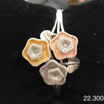 925 sterling silver Tri colour Italian kada by Veer Jewels