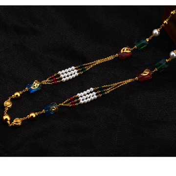 916 Gold Exclusive Antique Chain Mala AC168