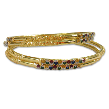 Gold 22kt/916 royal gold copper kadli by