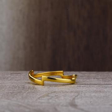 22ct Gold Plain Ring LPR179