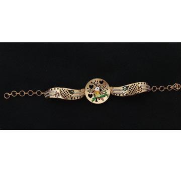 22Kt Gold Designer Bracelet For Women RH-B004