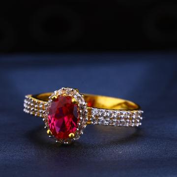 22KT Gold Hallmark Designer Ladies Ring LR560