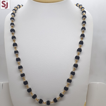 Rudraksh Mala Black RMG-0001 Gross Weight-30.090 Net Weight-22.880