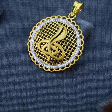 22 carat gold men's exclusive pendants RH_GP559