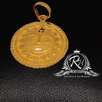 22 carat gold shuriya pendal RH-PN993