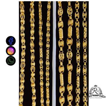 22 carat gold classical gents chain RH-CH490