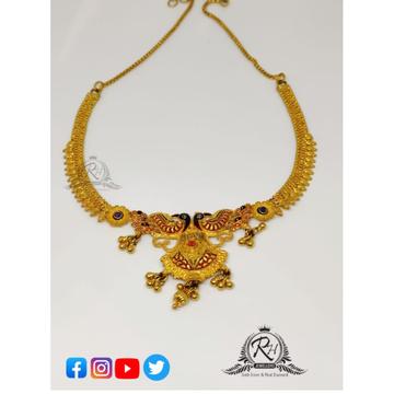 22 carat gold traditional stylish ladies set RH-ST...