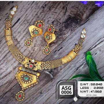 916 gold antiqe set sgs-0008