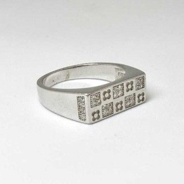 925 Sterling Silver Casual Gents Ring by