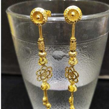 18Kt gold latkan earring