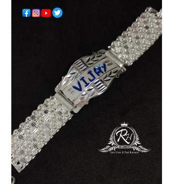 Silver gents classic names bracelet lucky RH-BL988