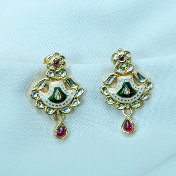22KT Gold EARRING pSI-577 by