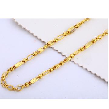 22CT Gold Hallmark Men's Choco Chain MCH313