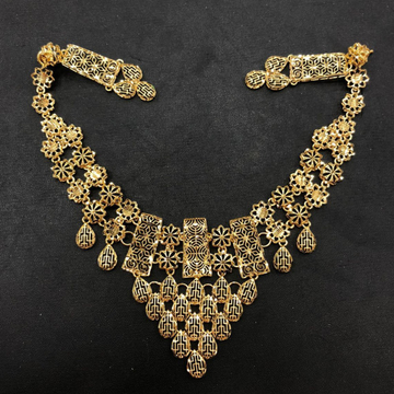 916 Gold Turkish Necklace Set by