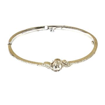 925 Sterling Silver Modern Style Bracelet MGA - BRS0230