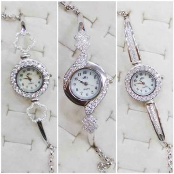 925 silver Ladies watch by Veer Jewels