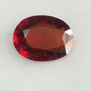 5.21ct oval brown hessonite-gomed by
